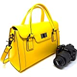 Best Review Purple Relic Dslr Camera Bag For Women Ladies Handbag With Removable Camera Case