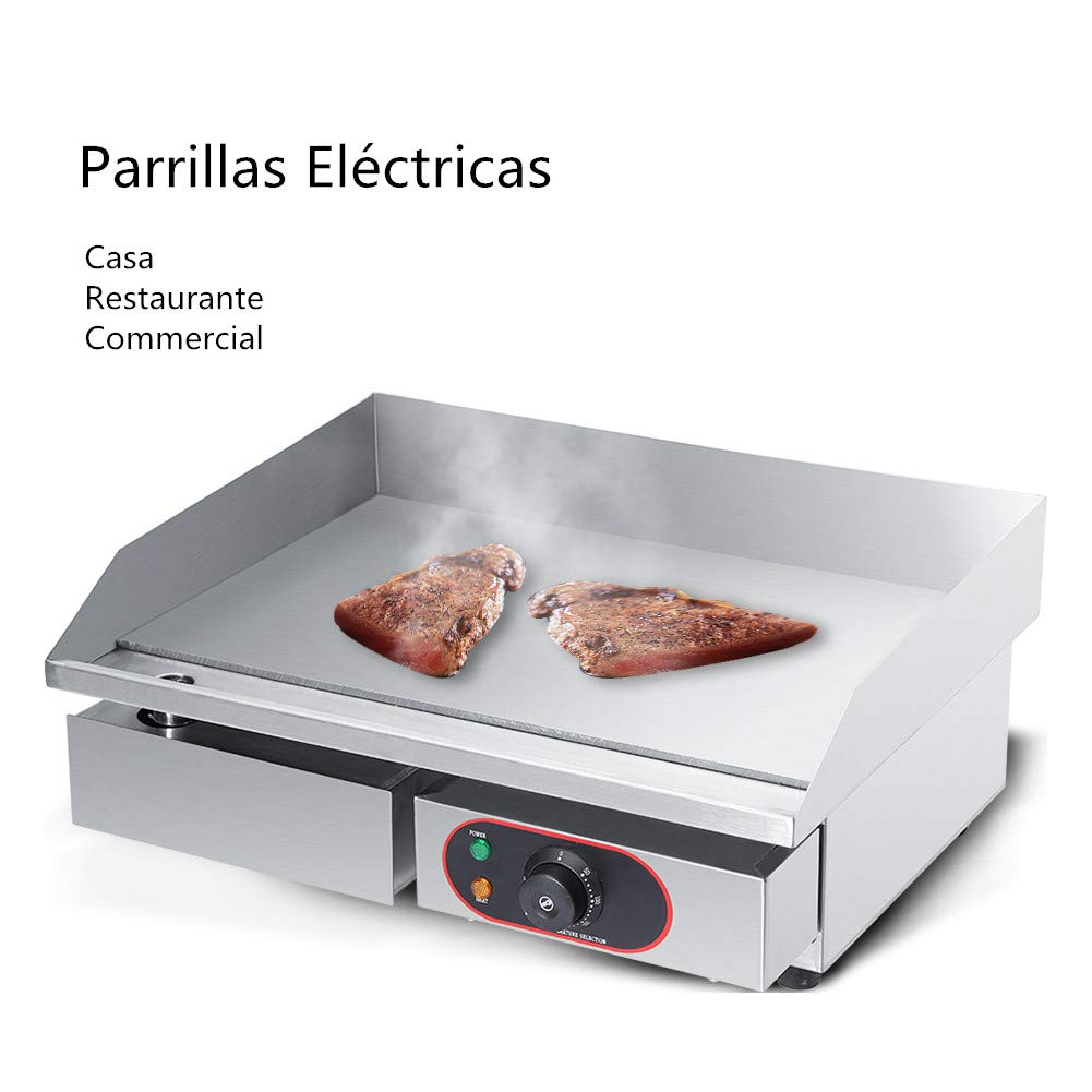 Parrillas eléctricas Barbacoa, 3000W 220-240V Acero inoxidable ...