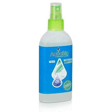 aquabio Waterbed Cleaner – Limpiador de vinilo para cama de agua colchones 140 ml (1er