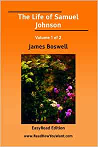 a biography of james boswell an english literature author