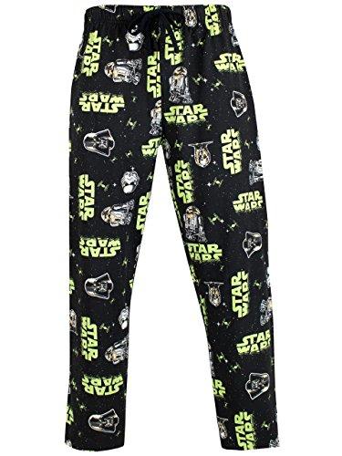 Star Wars Mens' Stormtrooper & Darth Vader Lounge Pant