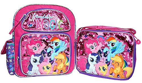 AI My Little Pony 12 inch Backpack and Lunch Box Set