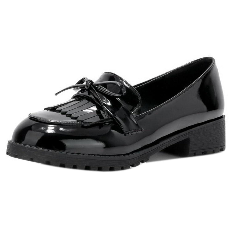AicciAizzi Women Fashion Chunky Heels Pumps