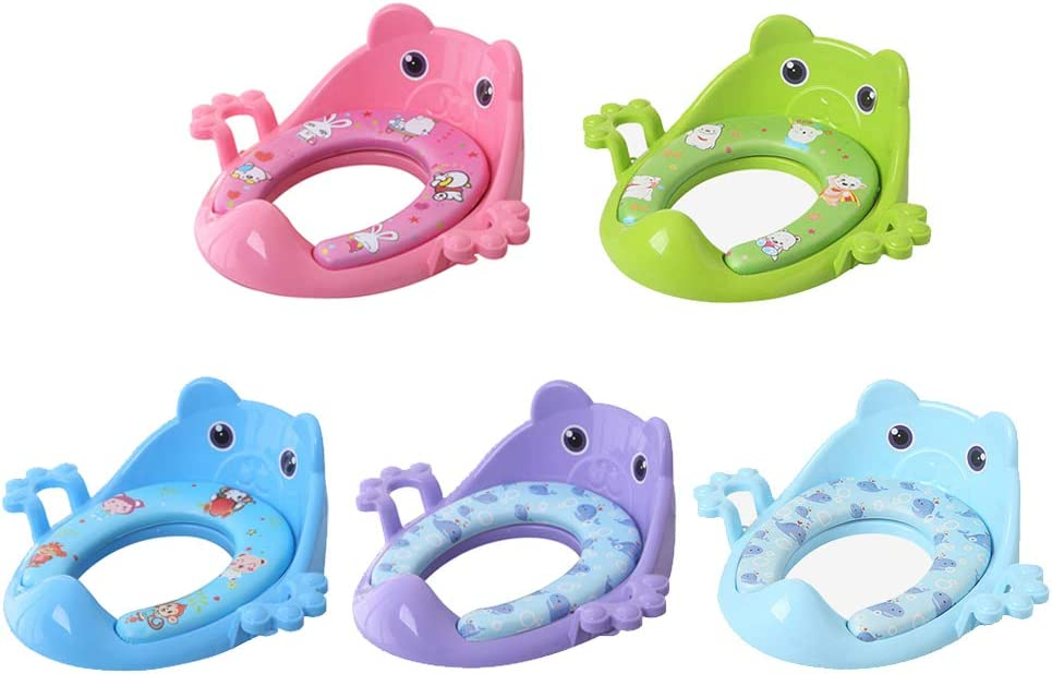 Childrens Toilet Seat as described Pink