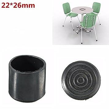 Rosa Lagarto negro silla conteras muebles pierna protección de goma ...