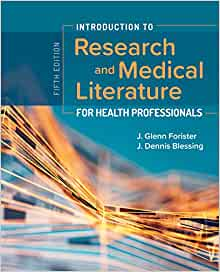 Introduction to Research and Medical Literature for Health