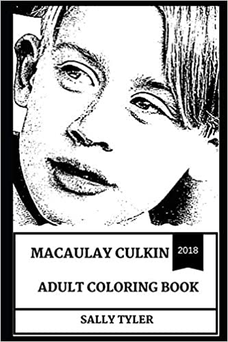 Macaulay Culkin Adult Coloring Book: Legendary Home Alone Actor And Greatest Kid Star Of All Time, Golden Globe Award Winner And Controversial Icon Inspired Adult Coloring Book Descargar PDF Ahora