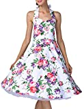 Best Yacun Party Dresses - Yacun Women's Cocktail Vintage Dress Floral Party Rockabilly Review