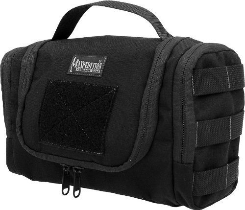 Bag Gear Compact - Maxpedition Gear Aftermath Compact Toiletries Bag, Black