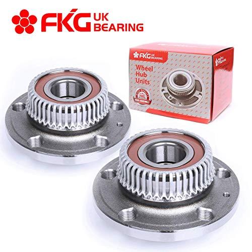 FKG 512012 Rear Wheel Bearing Hub Assembly for 2000-2006 Audi TT, 1998-2010 Volkswagen Beetle, 2000-2005 Volkswagen Golf, 1999-2004 Volkswagen Jetta, Set of 2 ()