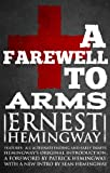 Front cover for the book A Farewell to Arms by Ernest Hemingway