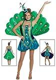 Rasta Imposta Womens Peacock Costume