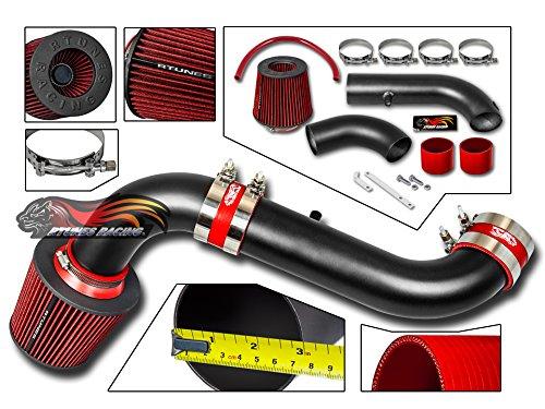 Intake Dodge Dakota - R&L racing MATT BLACK Short Ram Air Intake Kit For 03-10 Dakota 3.7L V6 / 4.7L V8