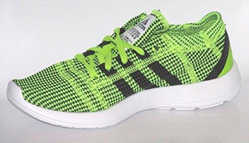 premium selection f3355 cbcc8 adidas Element Refine Tricot w Limette Damen Laufschuhe Amazon.de Schuhe   Handtaschen