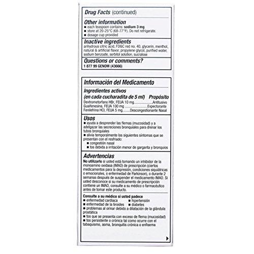 Tukol para la tos jarabe de , 2 unidades de 118,3 ml cada uno de los uno de los: Amazon.es: Salud y cuidado personal
