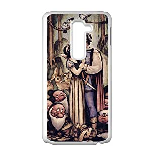 SANLSI Snow White and the Seven Dwarfs Case Cover For LG G2 Case