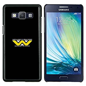 Qstar Arte & diseño plástico duro Fundas Cover Cubre Hard Case Cover para Samsung Galaxy A5 A5000 (Weyland Yutani Corp)