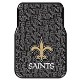 The Northwest Company Officially Licensed NFL New Orleans Saints Auto Front Floor Mat, 2-Pack