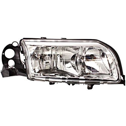 Aftermarket Fits 99-06 Volvo S80 Right Passenger Side Halogen Headlamp Assembly w/Chrome ()