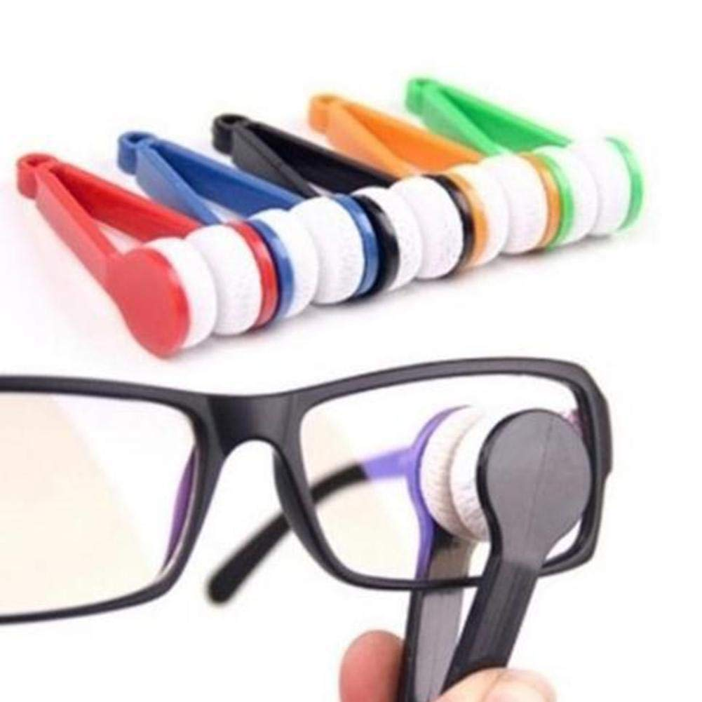 1PC New Microfiber Mini Sun Glasses Eyeglass Microfiber Brush Cleaner Cleaning Spectacles Tool Clean Brush Somedays