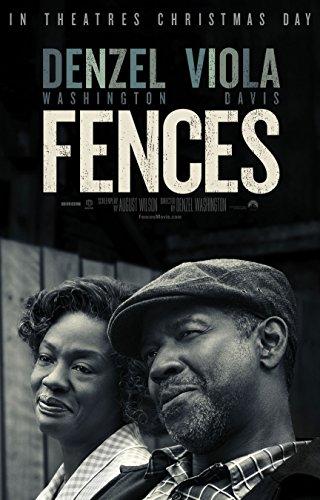 Fences Movie Poster Limited Print Photo Denzel Washington, Viola Davis Size 8x10 #1