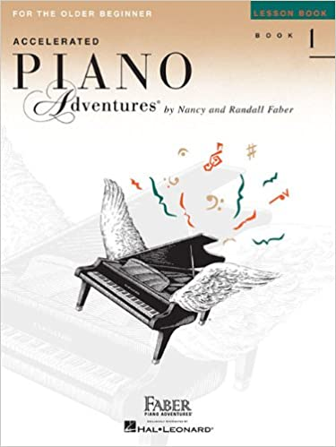 Accelerated Piano Adventures for the Older Beginner - Lesson Book 1