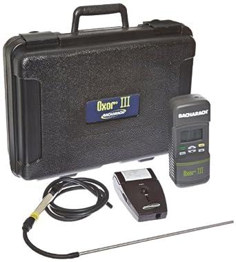 Bacharach Oxor III Model 0019-8113 Oxygen Analyzer with 4