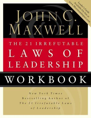 21 Irrefutable Laws Of Leadership Ebook