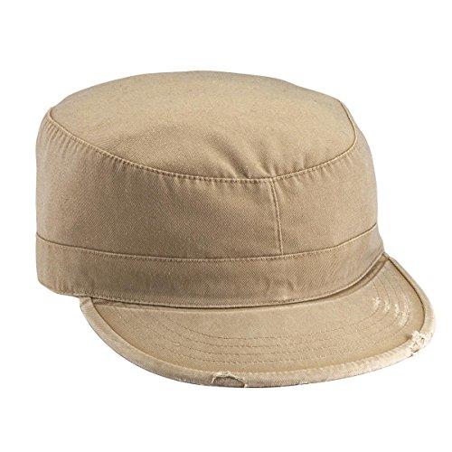 Rothco Vintage Fatigue Cap, Khaki, (Vintage Khaki Fatigue Cap)