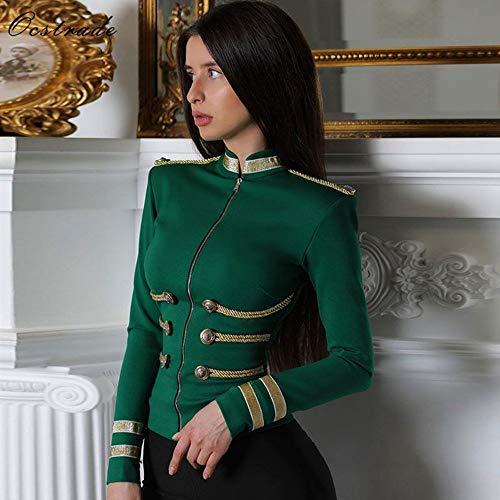 Manica Donna Moda Xl Alta Qualità Fxchen Giacca Lunga Size Elegante Di Plus EfBBAqgv