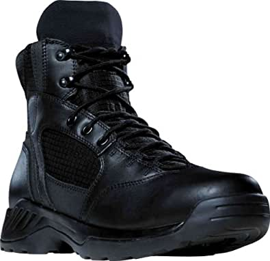 Men's Danner 6 inch Kinetic Boots, BLACK, 4