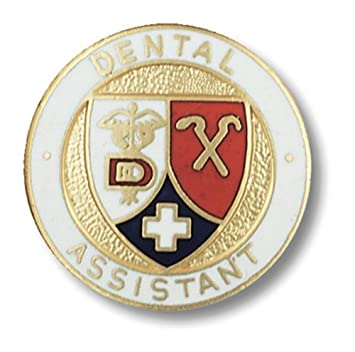 Amazon.com: Prestige Medical Emblem Pin, Dental Assistant: Health ...