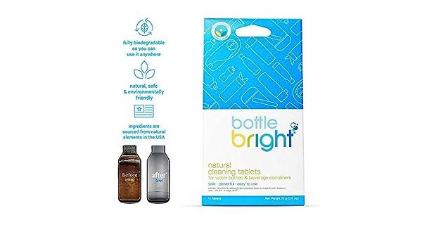 Bottle Bright - Botella de Agua Completamente Natural ...