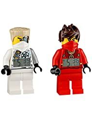 LEGO Exclusive Kai and Zane Rebooted Clocks 2-Pack