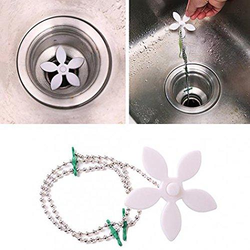 jhtceu 1 Pc Home Bathroom Shower Drain Sink Hair Catcher Clog Hair Removal Tool