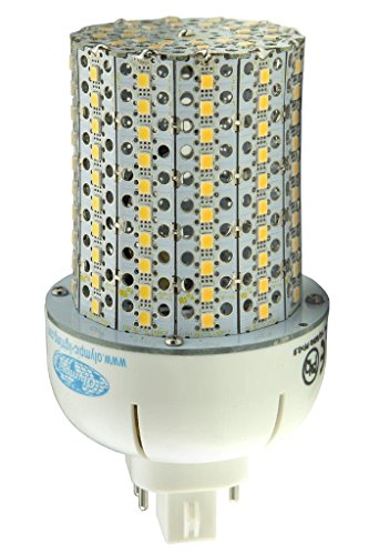 10W CCL LED Bulb 55K G24-4 Pin Plug in Replacement for 26W CFL