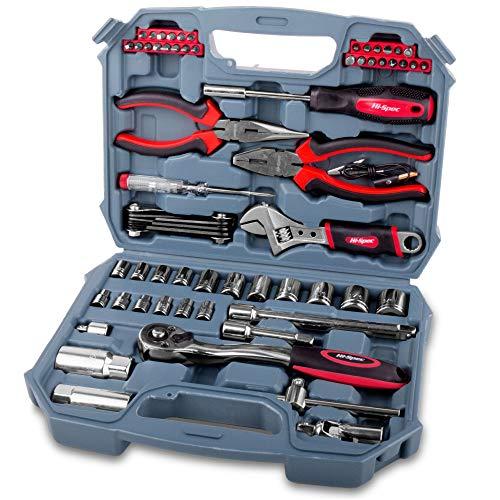 Hi-Spec 67 Piece SAE Auto Mechanics Tool Set - Professional