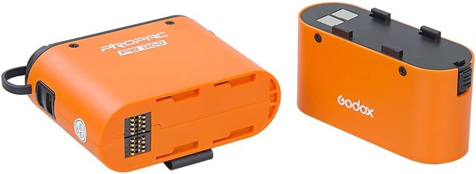 Godox 4500mAh PB960 Flash Power Battery Pack with Dual Output for ...