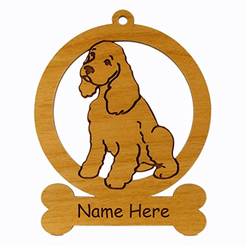 Cocker Spaniel Pup Ornament 082170 Personalized With Your Dog's Name