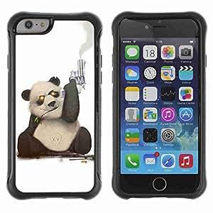 "A-type Arte & diseño Anti-Slip Shockproof TPU Fundas Cover Cubre Case para 4.7"" iPhone 6 ( Cool Panda )"