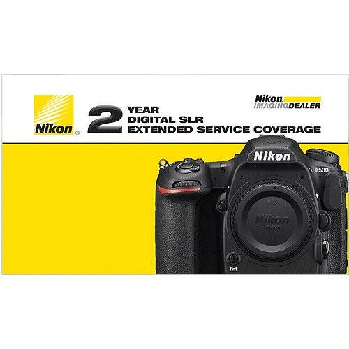 Nikon 2 Year Extended Service Coverage Agreement for the D500 Digital SLR Cameras -  17012