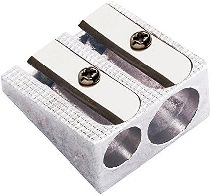 Molin AMD960-01 - Afilalápices metal doble: Amazon.es: Oficina y papelería