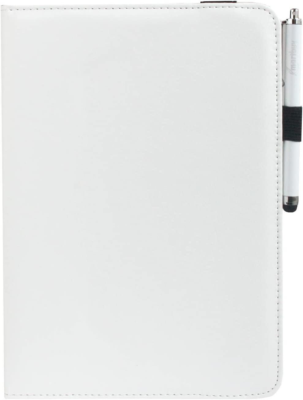 8,4 Zoll Gelb Gepolstert 360 Grad Drehen Stand Folio Brieftasche Fall Abdeckung und Stylus Pen Kompatibel mit Ausgew/ählten Unten Aufgef/ührten Ger/äten emartbuy Universal 7 Zoll