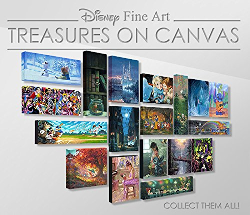 Disney Fine Art Mulan - The Elegant Warrior - Treasures on Canvas - Gallery Wrapped Canvas Wall Art by Heather Theurer