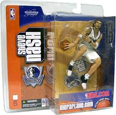 - Steve Nash McFarlane Series 5 White Jersey VARIANT by Unknown