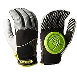 Sector 9 Apex 2014 Longboard Skateboard Slide Gloves Black / Grey / Green Size L/XL With Slide Pucks