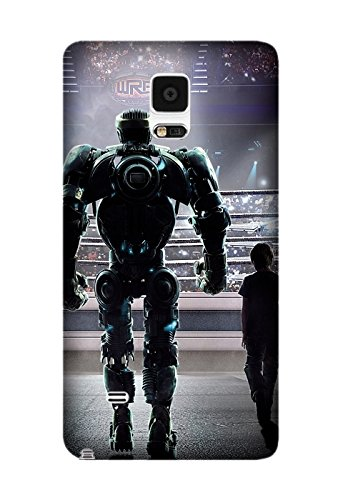 Exquisite Movie Real Steel Pattern Hard Phone Case Cover Protector Gifts for Samsung Galaxy Note 4