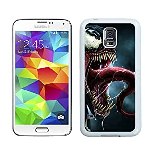 Fashionable and DIY Case Spider man 63 White Phone Case for Galaxy S5 I9600
