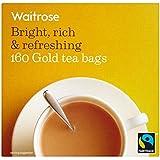 金のティーバッグ1パック160 (Waitrose) - Gold Teabags Waitrose 160 per pack