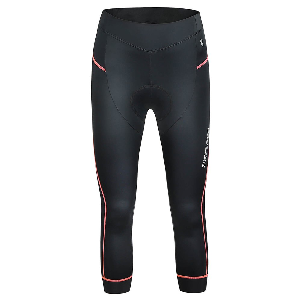 Skysper Women Biking Shorts 3D Padded Breathable Compression 3//4 Cycling Tights